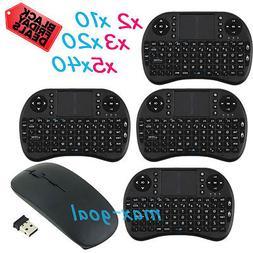 1 2 4 10 20 40 pcs Mini Wireless Keyboard 2.4G w Touchpad Ha