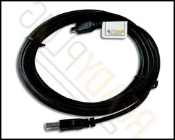 10 ft ReadyPlug USB Cable for Arteck HW086 Wireless Keyboard