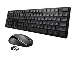 104 keys wireless keyboard and mouse combo