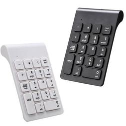 18 Keys 2.4G Wireless USB Number Pad Numeric Keypad Keyboard