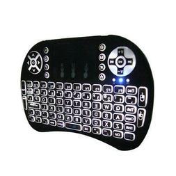 1PCS Mini Backlit i8 2.4GHz Wireless Keyboard for Respberry