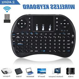 1X 2.4GHz Wireless Keyboard Mouse Air Mouse Touchpad for PC