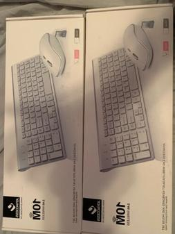 JOYACCESS 10M 2.4G Wireless Quiet Keyboard and Mouse Set 3 D