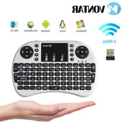 2.4G English Wireless mini Keyboard Touchpad for PC Android