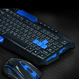 2.4G Gaming Multimedia Cordless Keyboard Wireless Optical Mo
