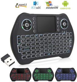 2 4g mini wireless keyboard touchpad mouse