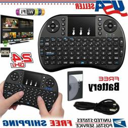 2 4g mini wireless keyboard with touch