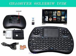 2.4G RF Mini Wireless Keyboard Touchpad Mouse Android TV BOX