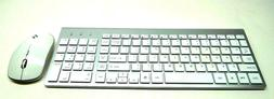 JOYACCESS 2.4G Wireless Compact and Silent Keyboard and Mous