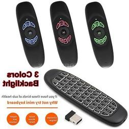 2.4G Wireless Keyboard 57 Keys Air Mouse TV BOX Remote Contr