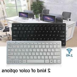 2.4G Wireless Keyboard Combo Computer Desktop PC Laptop Cord