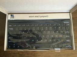 Arteck 2.4G Wireless Keyboard Stainless Steel Ultra Slim Key