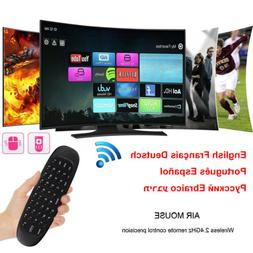 2.4G Wireless Remote Keyboard Air Mouse For PC Pad Android T