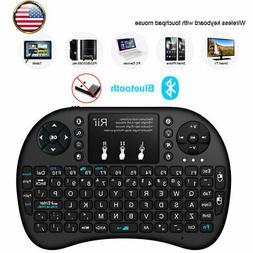 2.4GHz Mini Bluetooth Backlit Wireless Keyboard For BT Smart