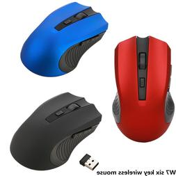 2.4Ghz Mini Wireless 6 Buttoms 1600 DPIOptical Gaming Mouse
