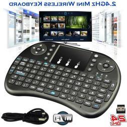 2.4Ghz Mini Wireless Keyboard Remote Controls Touchpad + Man