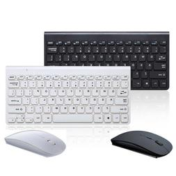 2.4GHz Wireless Keyboard + Wireless Mouse Combo Set For Lapt