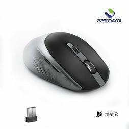 JOYACCESS 2.4GHz Wireless Mouse for Laptop Mute Mice Ergonom