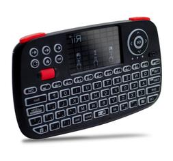 Rii i4 Mini Bluetooth Keyboard with Touchpad w/2.4GHz USB D