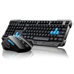 2019 Wireless Gaming Keyboard And Mouse Set Bundle 6 Key 2.4