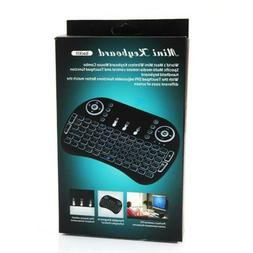 3-Color Backlight Wireless Keyboard with Touchpad /MINI i8 2