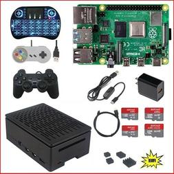 Raspberry Pi 4 Model B  Kit - KODI RetroPie Minecraft