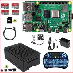 Raspberry Pi 4 Model B DIY  Kit - NOOBS Ultra-Silent Fan