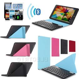 """7"""" Universal Wireless Bluetooth Keyboard W/ Magnetic Cover C"""