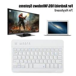 7in  Feet Wireless Ultra Slim Bluetooth Keyboard Type for An