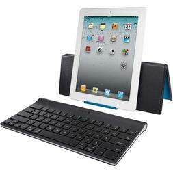 Logitech  Wireless Bluetooth Keyboard / Stand for iPad 2 / 3