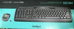 Logitech 920002836 - MK320 Wireless Desktop Set, Keyboard/Mo
