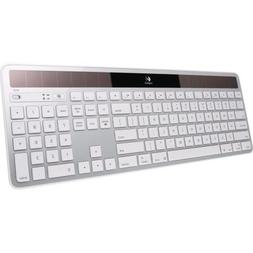 Logitech 920003472 Wireless Solar Keyboard for Mac, Full Siz