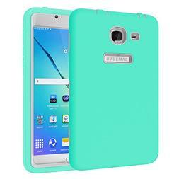 Beimu For Galaxy Tab A 7.0 Case,3 in 1 Hybrid Silicon Shockp