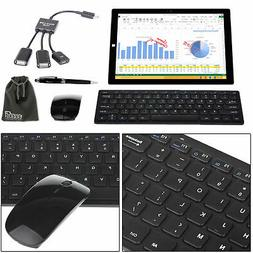 EEEKit Wireless Keyboard 2.4G Mouse Office Accessory Bundle