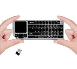 FAVI FE01 2.4GHz Wireless USB Mini Keyboard w Mouse Touchpad