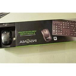 Insignia™ - Wireless Keyboard And Wireless Optical Mou