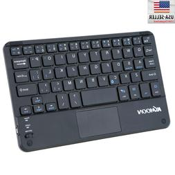 KKMOON 59 Keys Keyboard Ultra Slim Mini Bluetooth Keyboard w