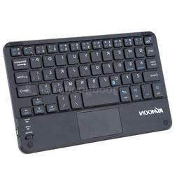 KKmoon 59 Keys Ultra Slim Thin Mini Bluetooth Keyboard with