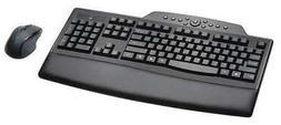 KENSINGTON K72403USA Keyboard/Mouse Set,Wireless,Black