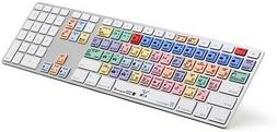 Logickeyboard LKBUPPROCCAJPRUS Wireless Slim PC Keyboard for