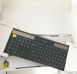 Logitech K750 Wireless Solar Ultra-thin PC Keyboard Unifying