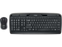 Logitech MK320 2.4 GHz Wireless Keyboard and Mouse Combo - B