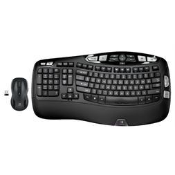 Logitech MK550 Wireless Wave Combo K350 Keyboard & M510 Mous