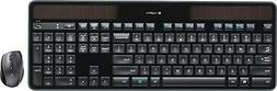 Logitech MK750 Wireless Solar Keyboard & Marathon Mouse Comb