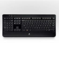 Logitech Wireless Illuminated Keyboard K800 & Wireless Perfo