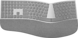 Microsoft - Surface Ergonomic Keyboard - Silver Model: 3RA-0