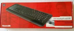 NEW Microsoft Wireless 800 English Keyboard - Black