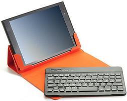Orange iPad Mini Case and Bluetooth 3.0 Keyboard, Compatible