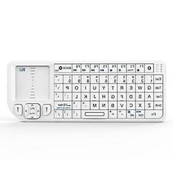 Rii K02+ 4 In 1 Mini Wireless Bluetooth Multi-Media Keyboard