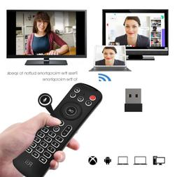 Rii MX6 Keyboard Air mouse Infrared Microphone Remote for Nv